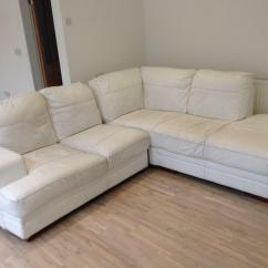 Cheap White Sofas Uk Second Hand Chesterfield Glasgow Leather Corner Sofa In Sunderland Tyne And Wear
