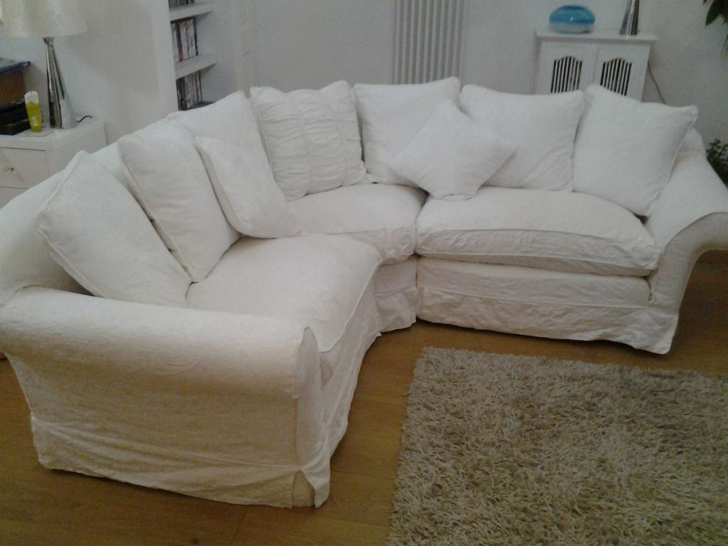 Tetrad Alicia Compact Corner Sofa 100 Cotton Removable Washable