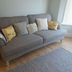 How To Sell Used Sofa Organic Ikea 3 Seater Stocksund Grey Beige Bought 2017 Never