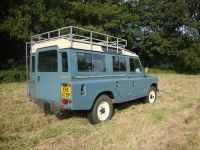 Short wheel base Land Rover roof rack galvanised to fit ...
