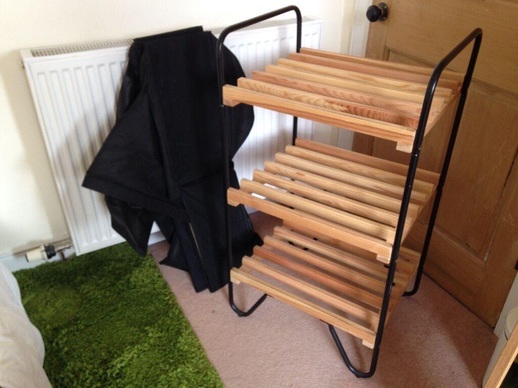 IKEA Bodo Shelf Including Fabric Boxes In Dowanhill