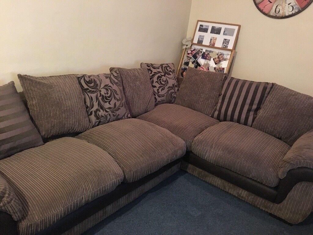 dfs corner sofa grey fabric sectional sofas pictures in barnstaple devon gumtree