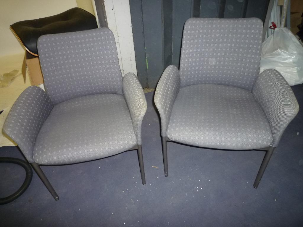 waiting room chairs for sale large living set of 3 reception buy and trade ads