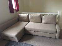 IKEA Friheten Corner Sofa Bed with Storage In Beige. | in ...