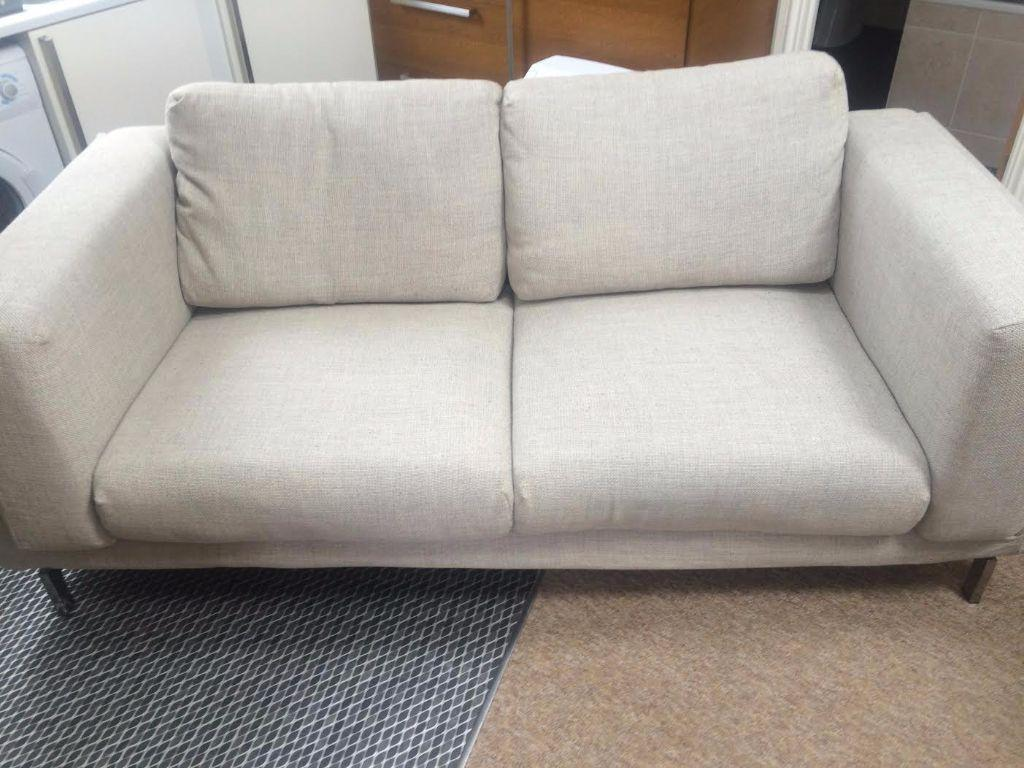 Ikea Sofa Nockeby Test Ikea Nockeby Two Seat Sofa Used Bought December 2014