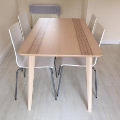 Ikea Bar Table And Chairs Aeron Chair Adjust Height Lısabo Dining 4 Martin In