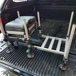 Fishing Chair Box Small Folding Chairs Stools Leeda Carp Match Seat With Foot Plate In Solihull