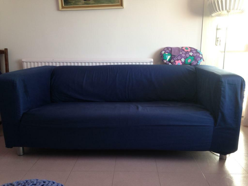 klippan sofa ikea uk lugnvik bed with chaise cover navy blue in brighton east