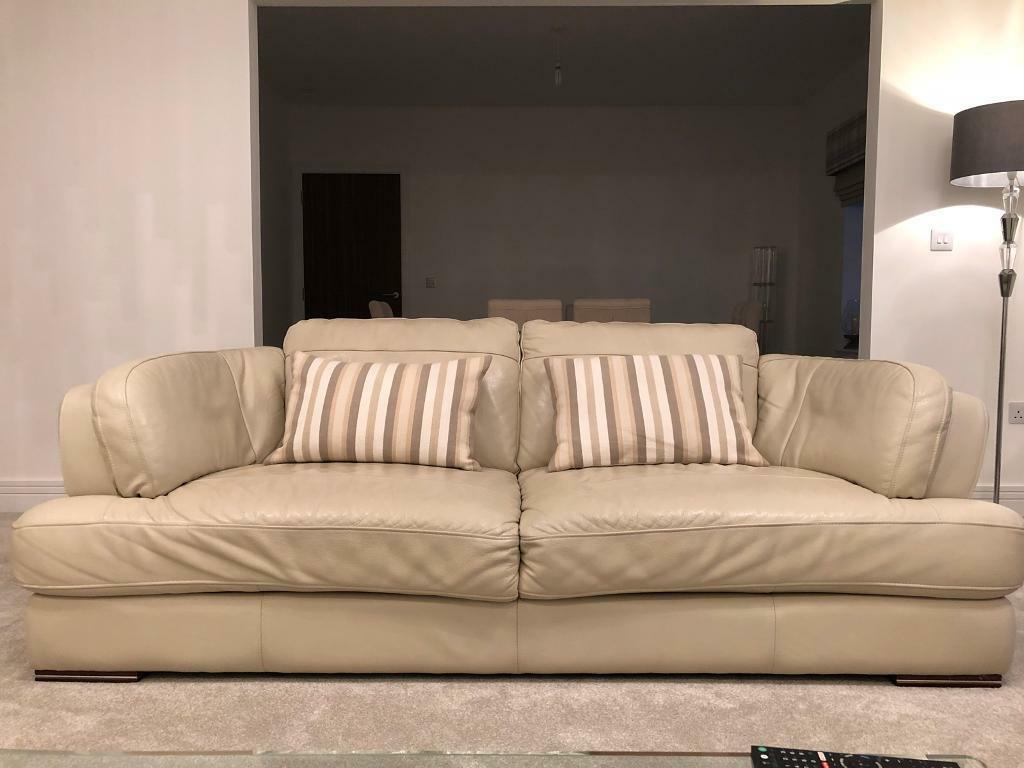 free sofa uplift glasgow marks cohen savoy leather costco cream sofas three piece set in east kilbride
