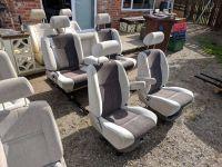 Camper van conversion swivel captain seats and sliding ...
