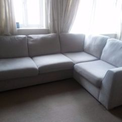 Dfs Corner Sofa Grey Fabric Sleeper With Matching Reclining Loveseat Blanche In Exeter Devon