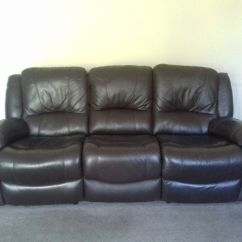 Two Seater Recliner Sofa Gumtree Grey Velvet Slipcover 3 Brown Leather 39s In Hull