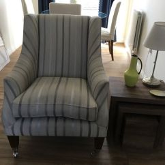 Addison Sofa Ashley Furniture Sectionals Beds Laura Armchair In Luxford Stripe Grey
