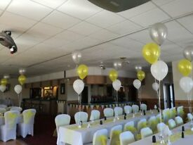 wedding chair covers mansfield lawn chairs with canopy fastfood takeaway available in city centre clayton black white tablecloths balloons favours decor hotel pubs