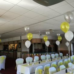 Chair Covers Wedding Yorkshire Tall Wingback Black White Tablecloths Balloons Favours Decor Hotel Pubs Clubs In Clayton West Gumtree