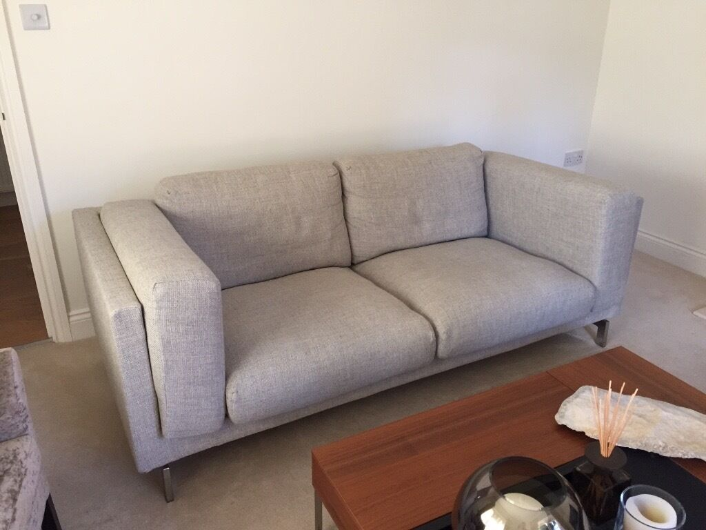 Ikea Sofa Nockeby Test Ikea Nockeby Sofa And Footstool In Ringwood Hampshire