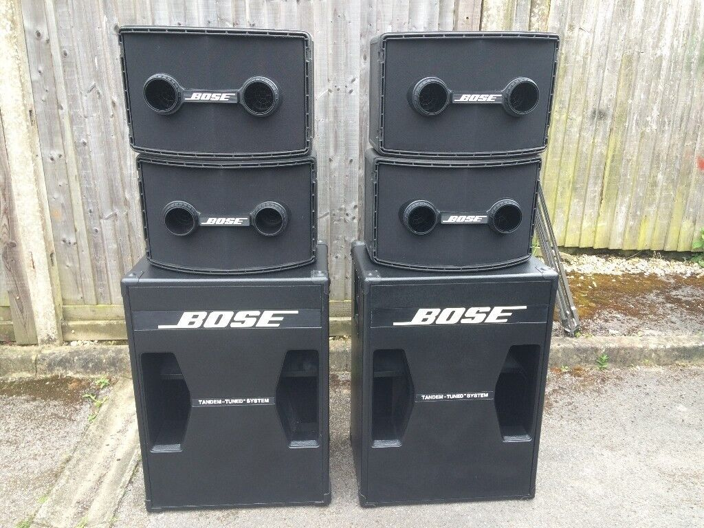 OLD SCHOOL 4 X BOSE 802 SERIES II AND 2 X 302 BASS. 802C CONTROLLER. AWESOME CONDITION WITH 2 AMPS | in Tadley. Hampshire | Gumtree