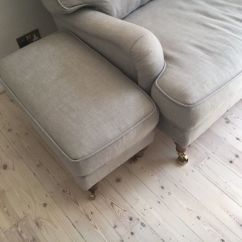 Bluebell Sofa Gumtree 4 Foot Table Dot Com Linen 3 Seat Breaks Into Parts Footstool