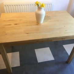 Posture Chair Gumtree Wrought Iron Lounge Wheels Ikea Bjorkudden Kitchen Dining Table And 4 Nordmyra White