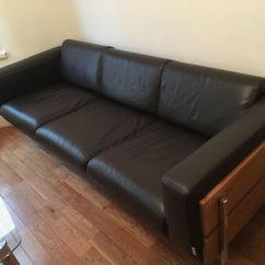 """Sofas On Gumtree Leather Sofa Saddle Soap Stylish Habitat """"days Forum"""" 3-seater Italian ..."""
