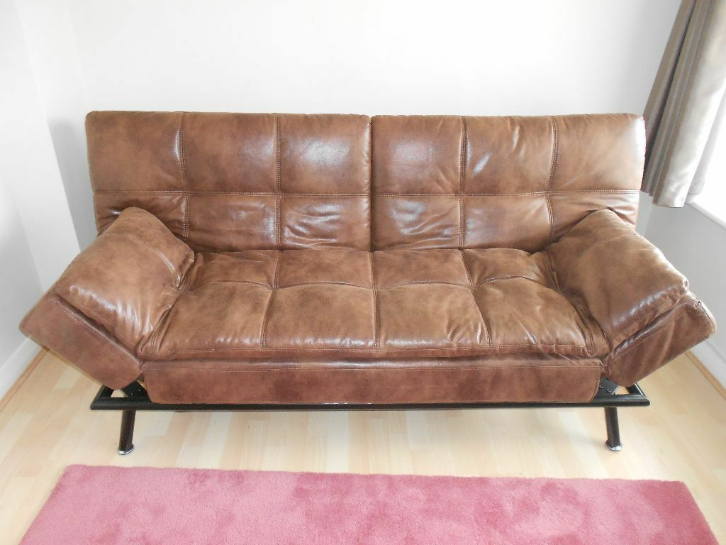 faux leather sofa india black high back texas silverado in bison and