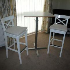Stool Under Chair Comfy Wingback Ikea Bar Stools And Breakfast Table Excellent