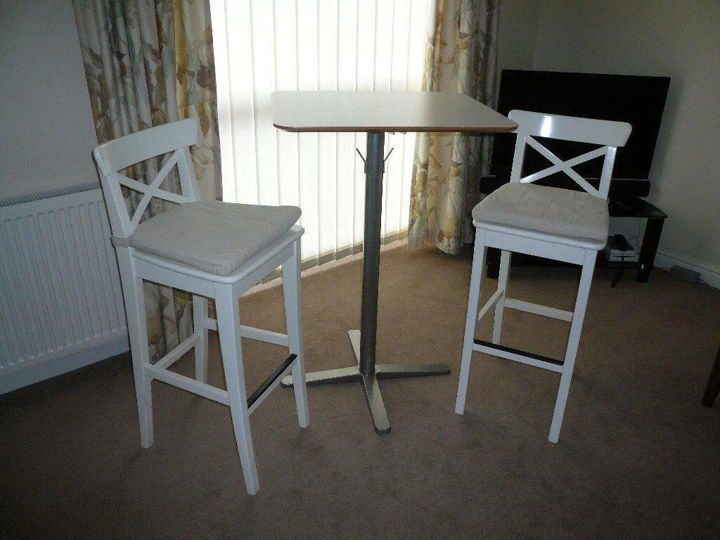 ikea bar table and chairs antique morris chair rocker recliner stools breakfast excellent