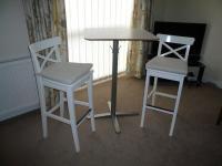 IKEA BAR STOOLS & BREAKFAST BAR TABLE ** EXCELLENT ...