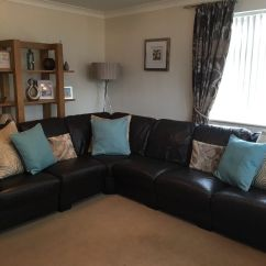 Leather Sofa Cleaning Kit Woodland Old Hickory Dfs Linea Range Corner 6 Seater Chocolate Brown ...
