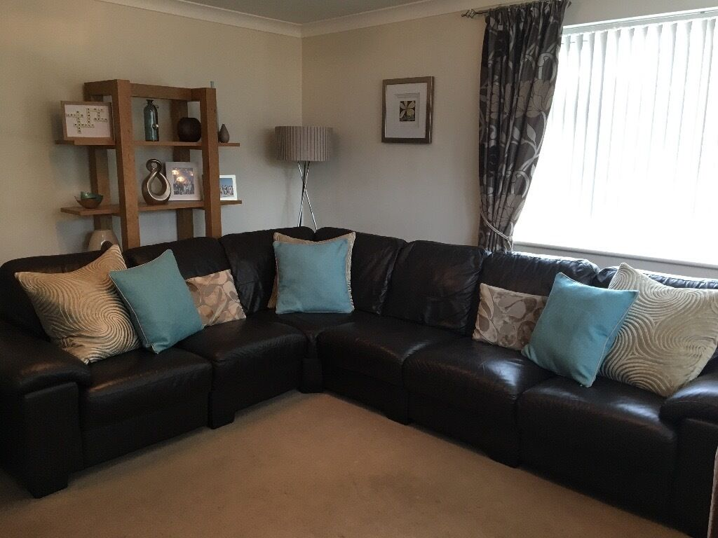 dfs brown half leather corner sofa next sofas and armchairs linea range 6 seater chocolate