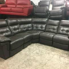 Red Leather Sofas Gumtree Manchester Polyester Fabric For Sofa Reduced Ex Display Lazy Boy Electric Recliner In Real