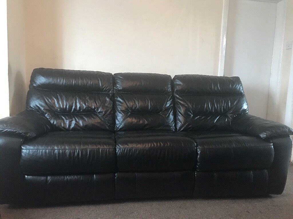 electric sofa set primitive sofas 3x2x1 dfs real black leather recliner