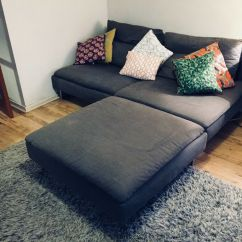 Cheap 2 Seater Sofa Covers Leather Wooden Legs Ikea Soderhamn Modular 3 And Footstool - Only ...