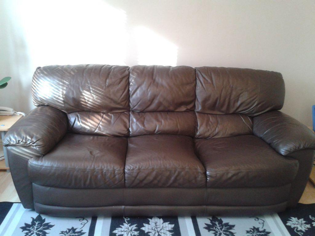 faux leather sofa deals look microfiber for sale excellent condition open to