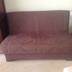 Sofa Bed Reviews Comfortable Sleeper With Storage Chaise Stylish Fabric Good Condition In Tavistock