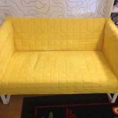 Yellow Sofa Bed Ikea White Fabric 3 Seater Lycksele LÖvÅs Sleeper Vallarum