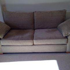 Grey Fabric Sofa Next Laptop Table Portable 39garda 39 3 Seater Sofas X2 Dark Natural