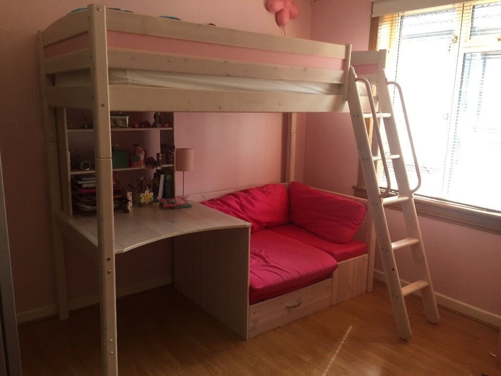 sofa beds on gumtree gamma victor girls cabin bed with desk, hidden storage and sofa/pull ...