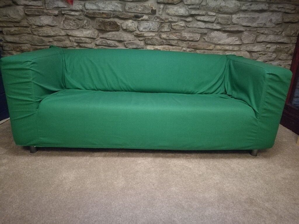 ikea klippan sofa cover red bed craigslist leather with