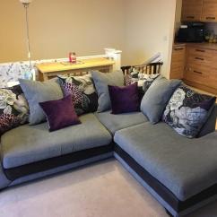Purple Corner Sofa Bed And Loveseat Covers For Pets Set Keerthi Furniture Kochi