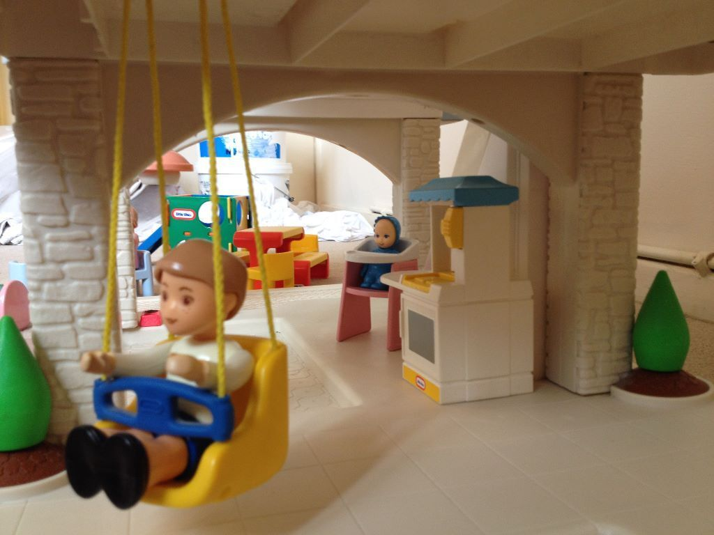 little tikes doll high chair office icon house and furniture in llandaff