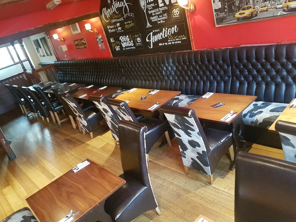 Used Restaurant Booths Tables  Chairs For Sale  in
