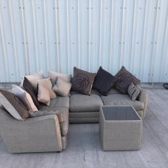 Free Sofa Uplift Glasgow How To Measure A For Loose Covers Dfs Tweed Corner Couch Suite Can Deliver In