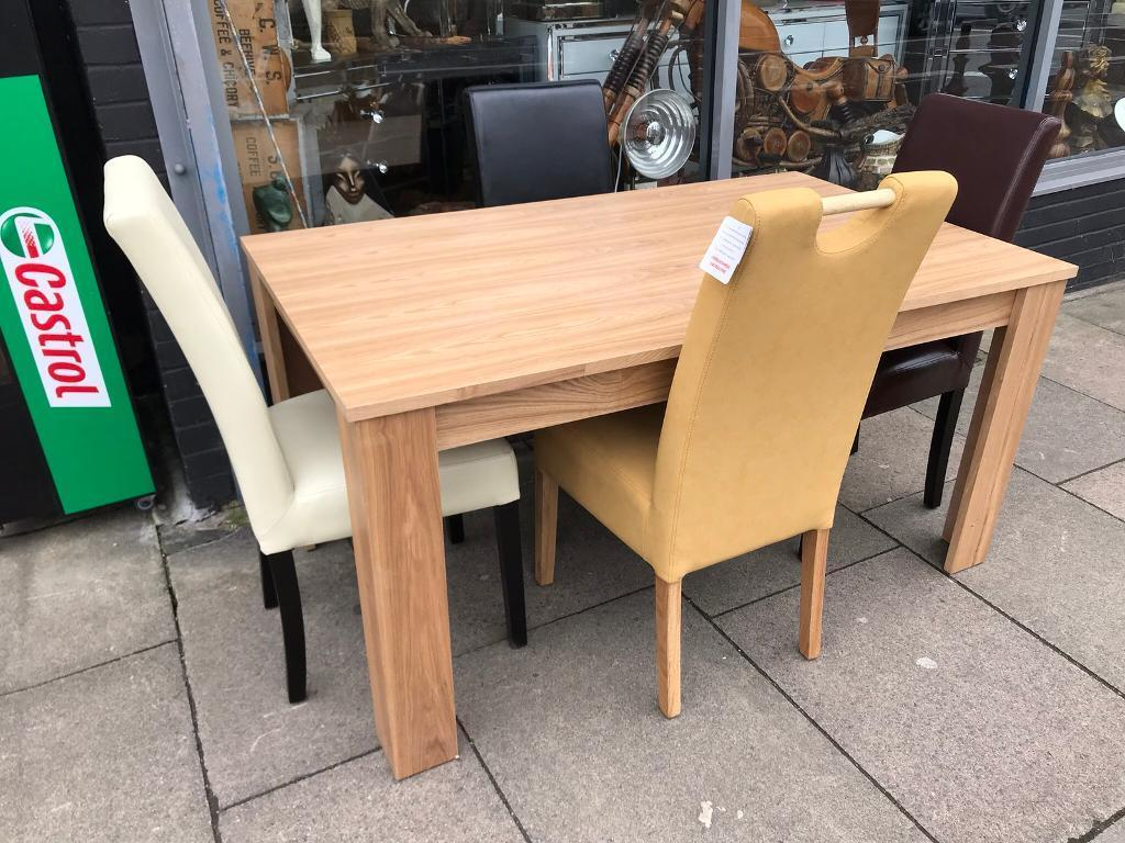 funky wooden chairs lounge on sale table four different in leicester