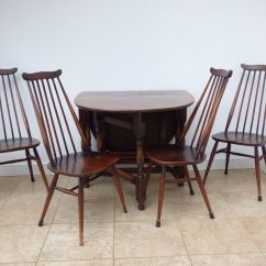Ercol Windsor Dining Table And Chairs Aliexpress Chair Covers Antique Gateleg 4 Goldsmith