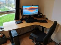 Home Office | Small Business | Computer Gaming Corner Desk ...