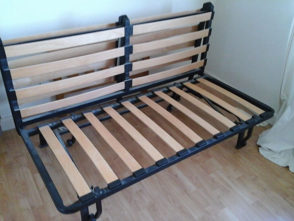 folding chair bed ikea event covers vancouver double frame in dursley