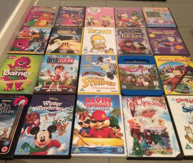 Childrens And Adult Dvds
