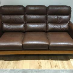 Sofas On Gumtree Leather Craigslist Cintique Lydia Brown Sofa Chair And Footstool