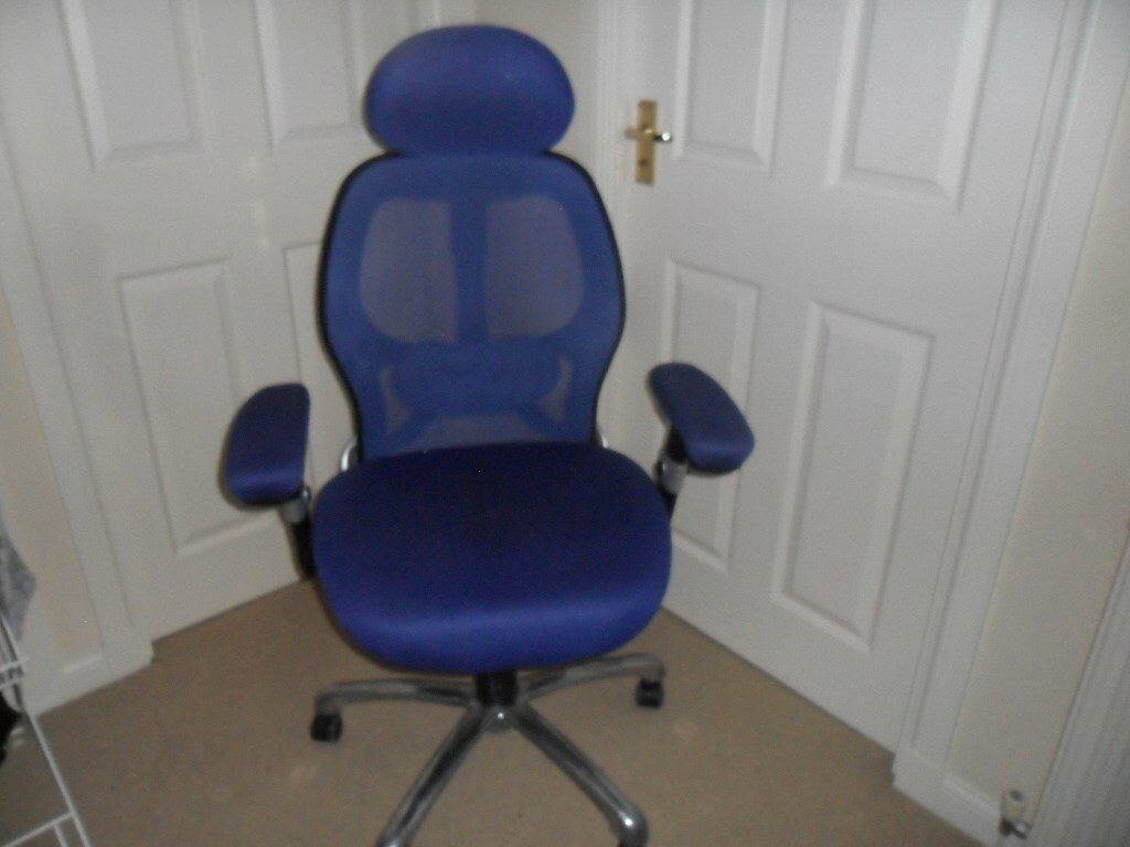 revolving chair gumtree aluminum chairs for sale computer office in inverkip inverclyde